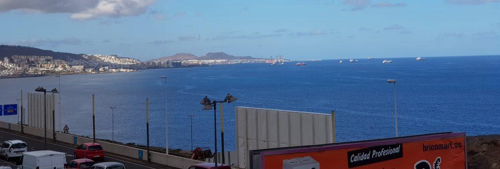Einkaufszentrum El Mirador: Blick in Richtung Las Palmas