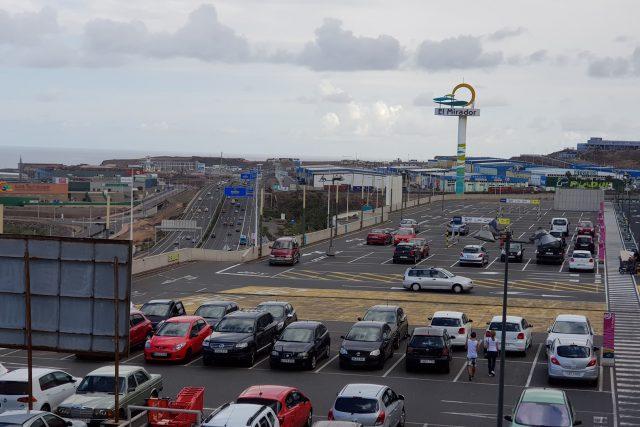 Einkaufszentren abseits von Las Palmas