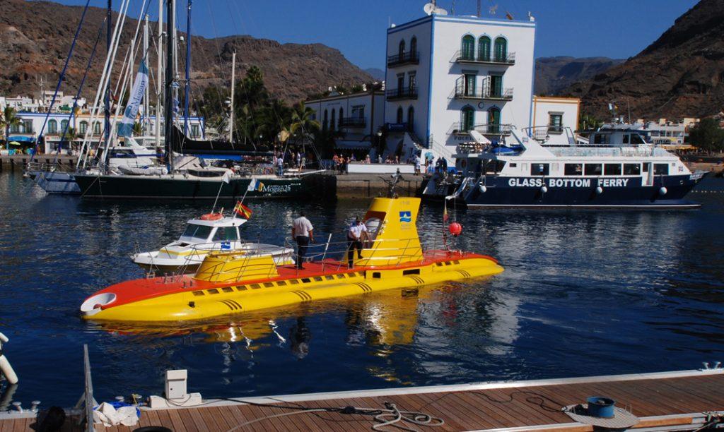 Touristen-U-Boot für Unterwasser-Ausflüge.