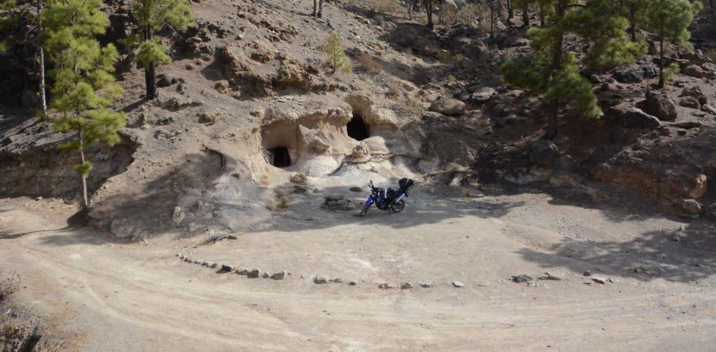 Schotterpiste der GC 604 von El Tablero zum Chira-Stausee